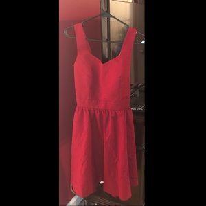 Lauren James Dress Red Medium